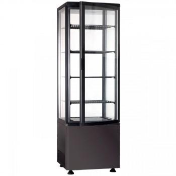 Шкаф холодильный FROSTY RT235L чёрный