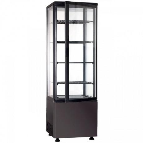 Шафа холодильна FROSTY RT280L чорна