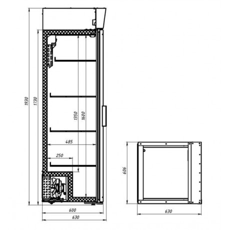 Холодильный шкаф POLAIR DM104c-Bravo