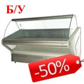 Холодильні вітрини уживані та знижені в ціні