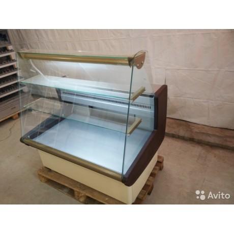 Кондитерская витрина ВХСд-1,2 Полюс Эко