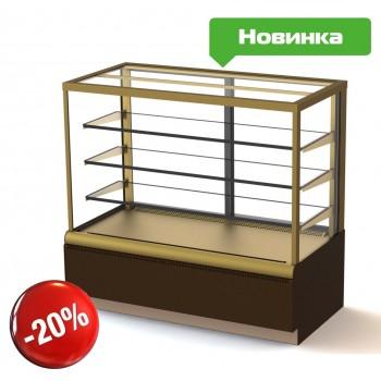 Кондитерская витрина Полюс ВХСв-1,3д Carboma Cube