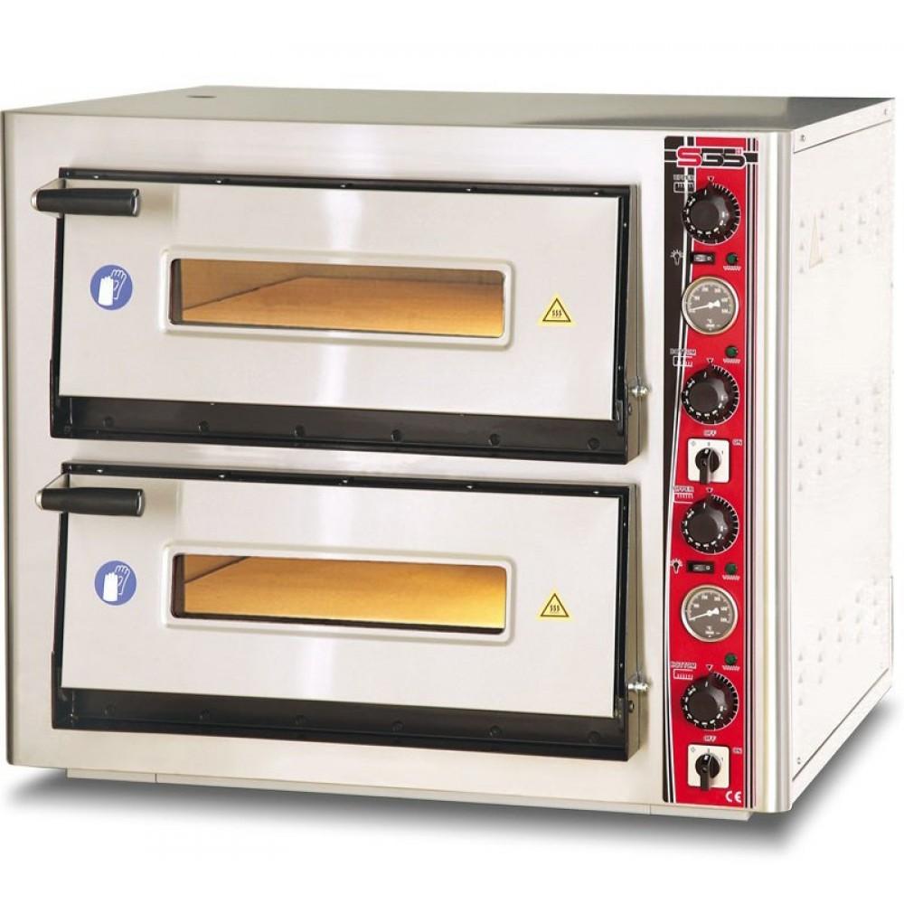 Печь для пиццы SGS РО 6868 DЕ с термометром