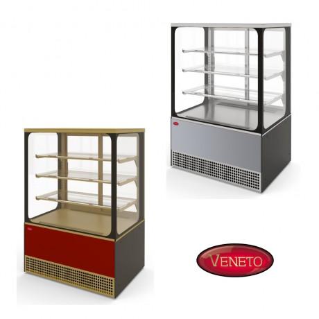 Кондитерская витрина VS-1,3 Veneto Cube (стеклопакеты)