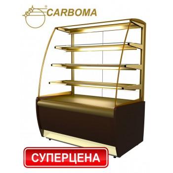 Кондитерська вітрина ВХСв-0,9д Carboma - K70 VM 0,9-1 Flandria