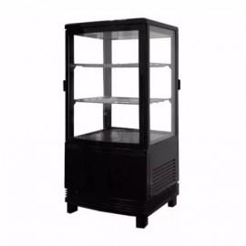 Шафа холодильна FROSTY RT58L-1D чорна