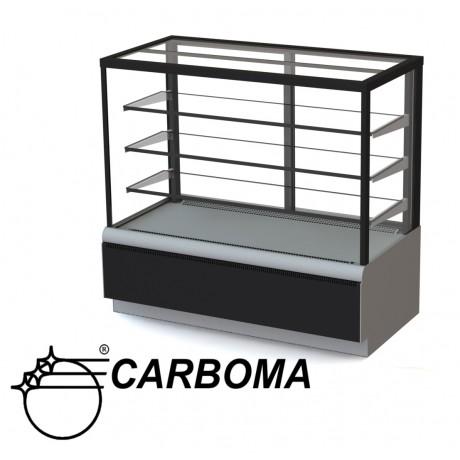 Кондитерська вітрина Полюс ВХСв-0,9д Carboma Cube (ТЕХНО)